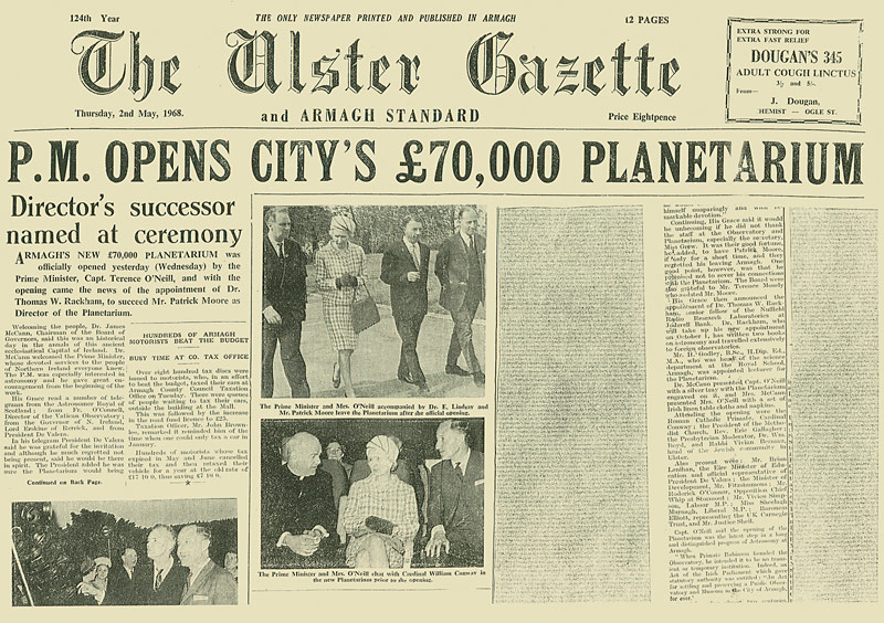 Planetarium Newspaper Article