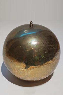 Globular Brass Shell
