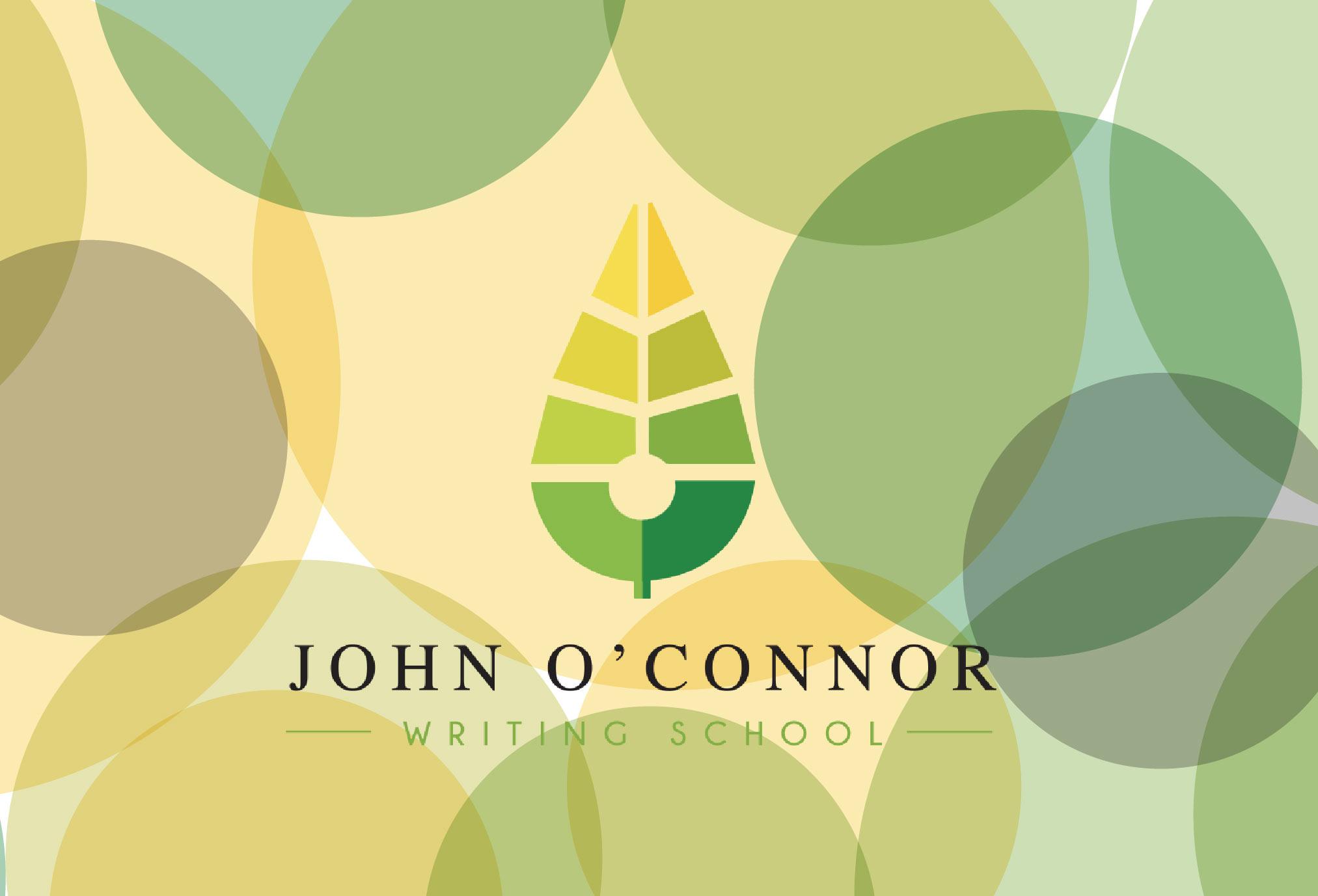 JOHN O'CONNOR WRITING SCHOOL: 2 – 5 NOV