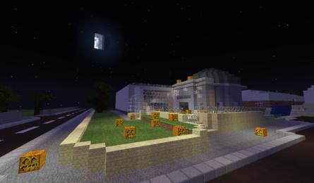 Halloween Minecraft – Under 8's