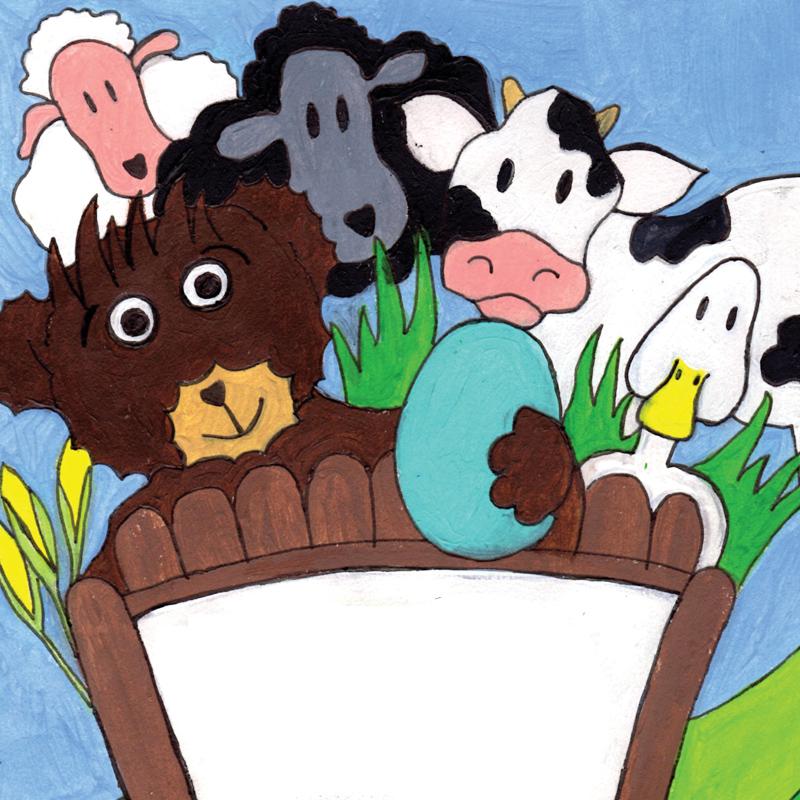 Teddy's Day on the Farm