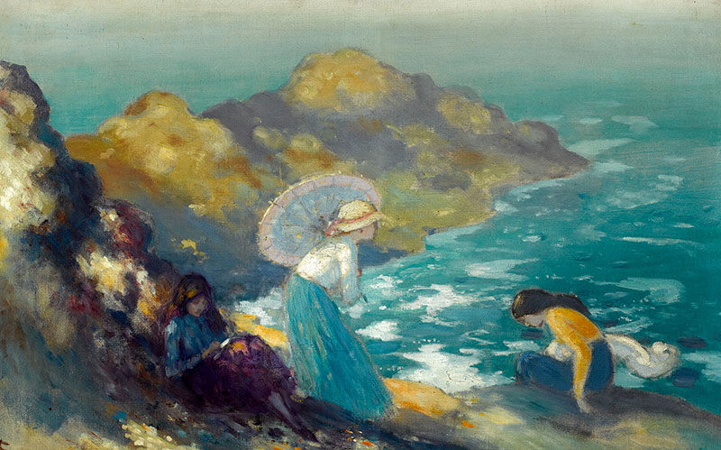 Girls by the Sea, George Russell (4.1946)