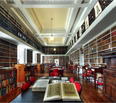 Interior of Robinson Library
