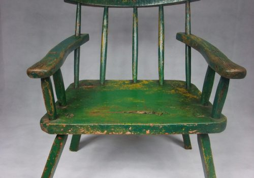 6 Green hedge chair