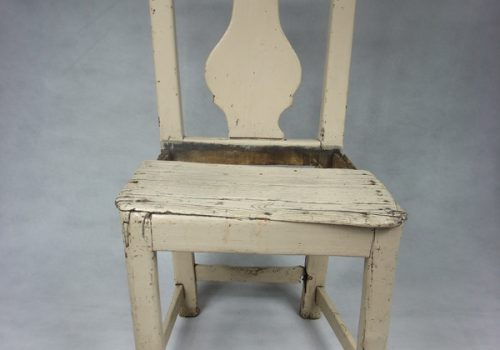 8 Early carpenter's chair