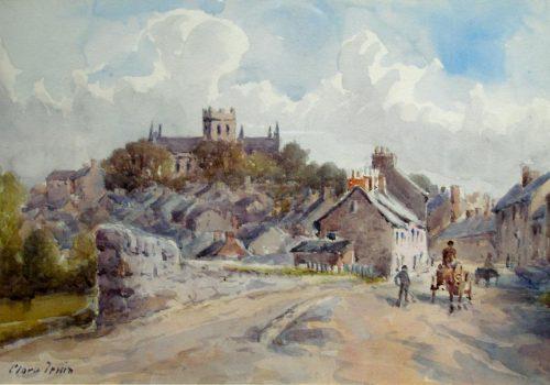 ARMCM.1.1953_Armagh from the Keady Road_Clara Irwin
