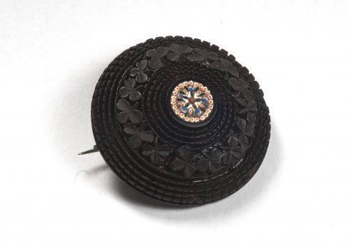 Brooch, circular with moasic ARMCM.164.1975