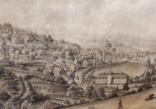 James Black View of Armagh July 1811